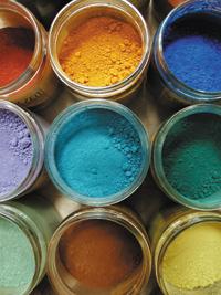 Peinture naturelle pigmentée